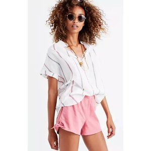 Madewell Pull-On Side-Tie Shorts Womens Size XS